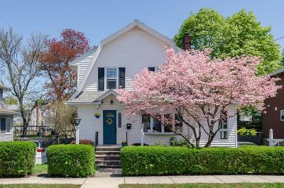 Quincy Single Family Home Under Agreement: 114 Highland Ave