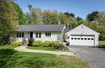 Sherborn Single Family Home Under Agreement: 183 S Main St