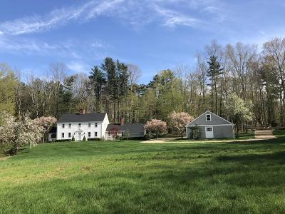 Sherborn Single Family Home For Sale: 39 Mill Street