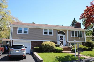 Saugus MA Single Family Home For Sale: $589,900