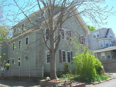 Taunton Condo/Townhouse Under Agreement: 40 Winthrop St #3