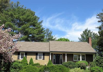 Dedham Single Family Home For Sale: 52 Anthony Lane