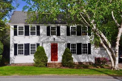 Duxbury Single Family Home Under Agreement: 31 Cove St