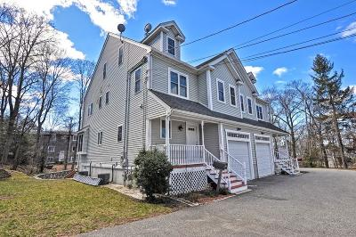 Foxboro Single Family Home For Sale: 29 Mechanic St #A
