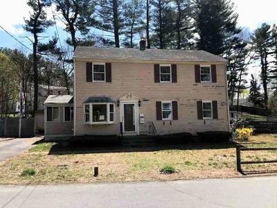 Hingham Single Family Home Under Agreement: 32 Hemlock Rd