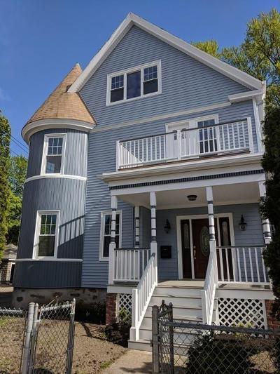 Boston Single Family Home For Sale: 586 Park St