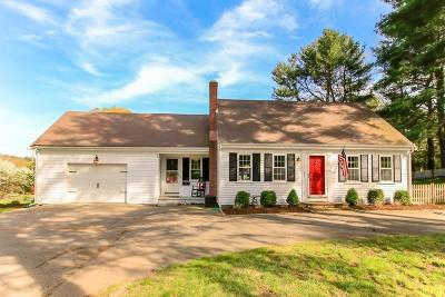 Hingham Single Family Home Under Agreement: 2 Accord Pond Dr