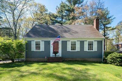 Hingham Single Family Home Under Agreement: 499 Cushing St