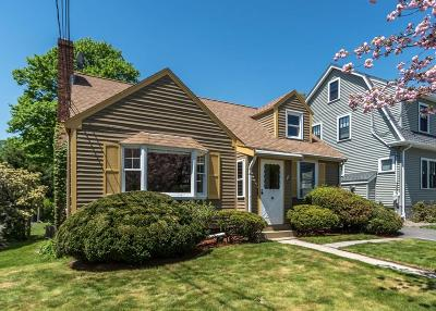Waltham Single Family Home For Sale: 44 Beal Road