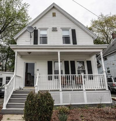 Lowell Single Family Home For Sale: 16 Stewart St