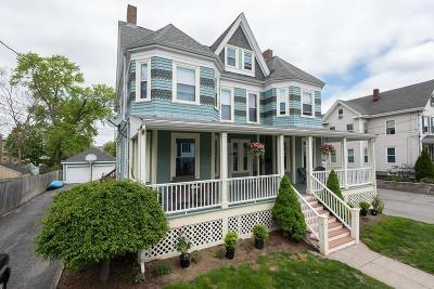 Braintree Multi Family Home Under Agreement: 68-70 Holbrook Ave