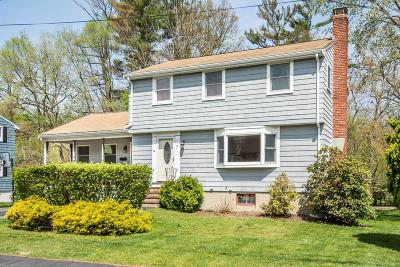 Reading MA Single Family Home For Sale: $589,900