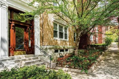 Brookline Condo/Townhouse Under Agreement: 16 Fairbanks St #3