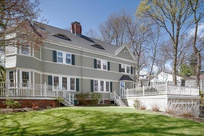 Brookline MA Single Family Home For Sale: $2,925,000