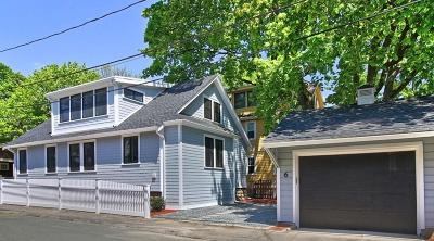 Cambridge MA Single Family Home Under Agreement: $1,689,000