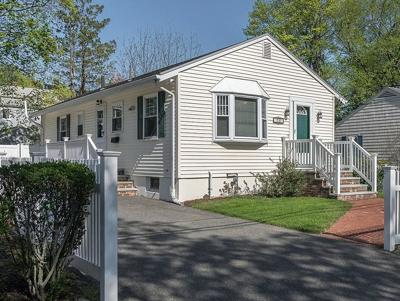 Reading MA Single Family Home Under Agreement: $474,900