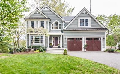 Needham Single Family Home For Sale: 302 Cedar St