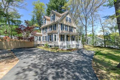 Needham Single Family Home Under Agreement: 115 Marked Tree Rd
