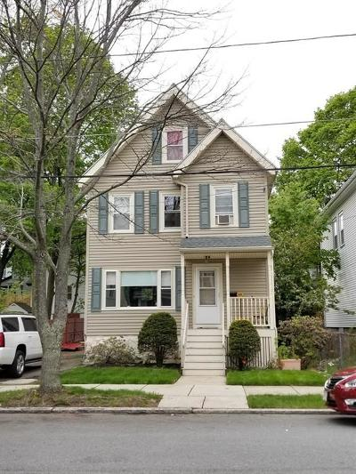 Malden Single Family Home Contingent: 15 Spruce Street