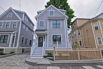 Somerville Single Family Home For Sale: 30 Hawthorne St #30