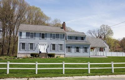 Franklin Single Family Home Under Agreement: 71 Oxford Drive