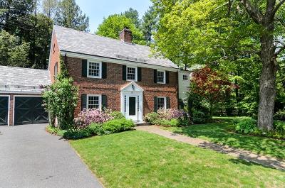 Wellesley Single Family Home Under Agreement: 12 Marvin Rd