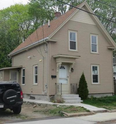 Attleboro Single Family Home For Sale: 22 Parker St.