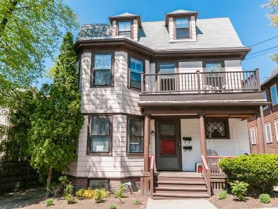 Cambridge Multi Family Home Under Agreement: 33 Chatham Street