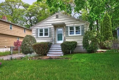 Dedham Single Family Home Contingent: 14 Ridgeway St