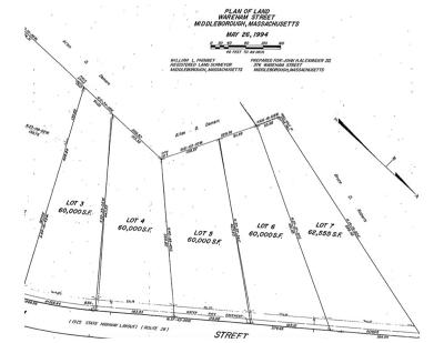 Middleboro Residential Lots & Land For Sale: 384-A Wareham Street