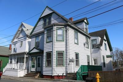 Gloucester MA Multi Family Home Contingent: $338,000