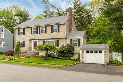 Needham Single Family Home Under Agreement: 148 Plymouth Rd