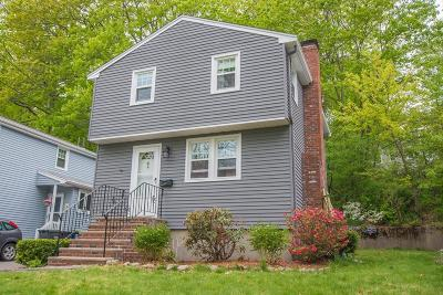 Dedham Single Family Home Contingent: 35 Gainsville Rd