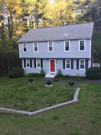 East Bridgewater Single Family Home For Sale: 17 Helen Way