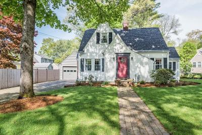 Andover Single Family Home Contingent: 6 Lincoln Circle