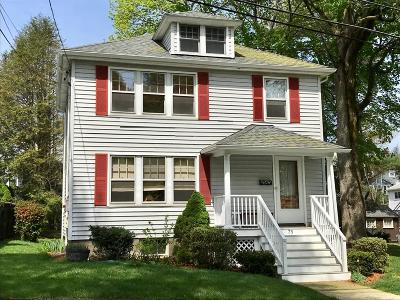 Waltham Single Family Home Contingent: 75 Fairmont Avenue