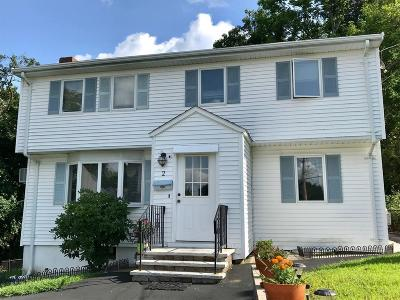 Waltham Single Family Home For Sale: 2 Mount Vernon Avenue