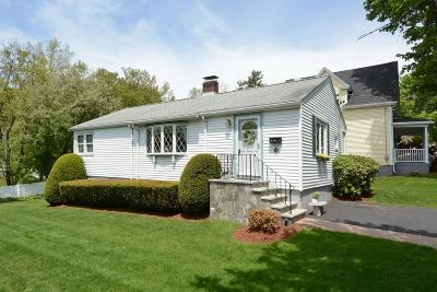 Arlington MA Single Family Home Under Agreement: $649,900