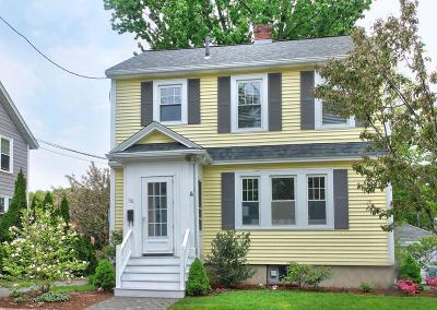 Boston Single Family Home Contingent: 50 Chesbrough Road
