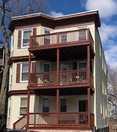 Boston Multi Family Home Contingent: 8 Fowler St