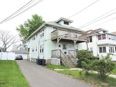 Quincy Multi Family Home Under Agreement: 59-61 Appleton St