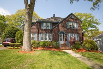 Braintree Single Family Home Under Agreement: 138 Oak Street