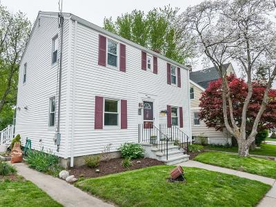 Watertown MA Single Family Home For Sale: $649,000