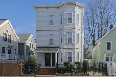 Cambridge Multi Family Home Under Agreement: 170-172 Pleasant St