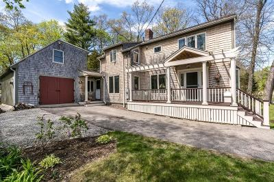Cohasset MA Single Family Home For Sale: $1,095,000