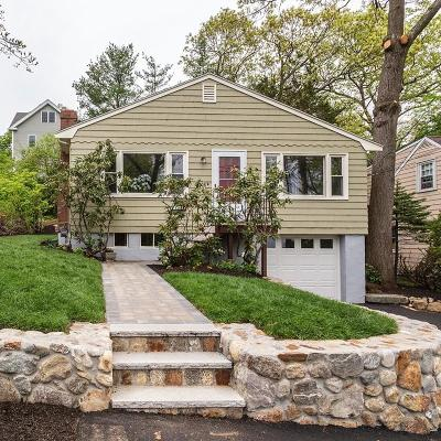 Arlington MA Single Family Home Under Agreement: $794,500