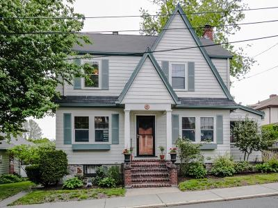 Boston Single Family Home For Sale: 7 Barclay Rd