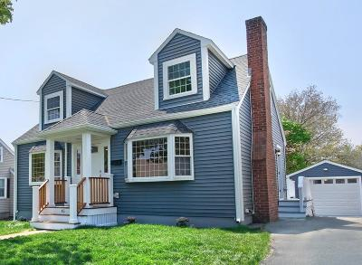Quincy Single Family Home Contingent: 45 Lansdowne St