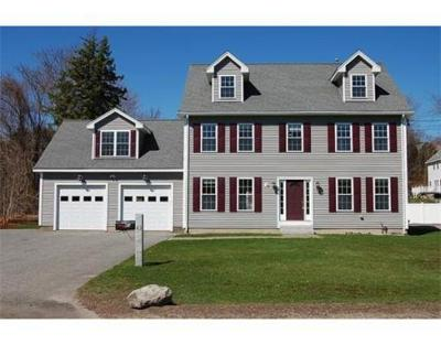 Woburn Single Family Home New: 43 Burlington St