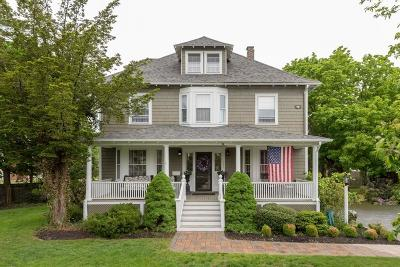 Dedham Single Family Home For Sale: 171 Needham St